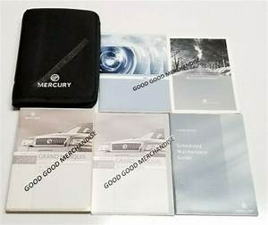 2008 Mercury Grand Marquis Owners Manual User Guide Gs Ls