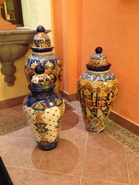 Mexican Glass Vases by 17 Best Images About Mexican Vases Pottery On