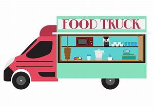 Illustration of Food Truck in Vector - Download Free ...