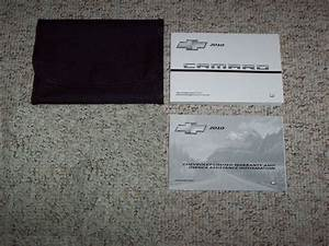 2010 Chevrolet Camaro Owner U2019s Manual Set