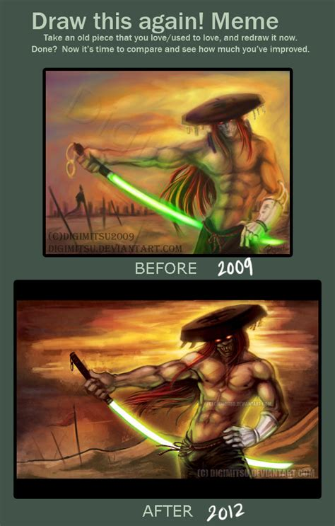 Tekken Memes - draw this again meme tekken yoshimitsu draw this again know your meme