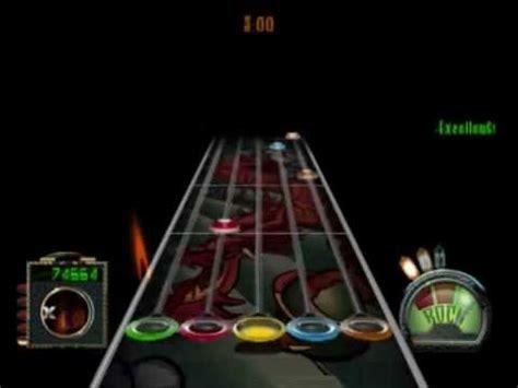 Frets On Fire Guitar Hero 3 Metallica  One Youtube
