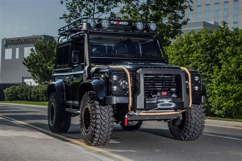 land rover defender  spectre edition hiconsumption