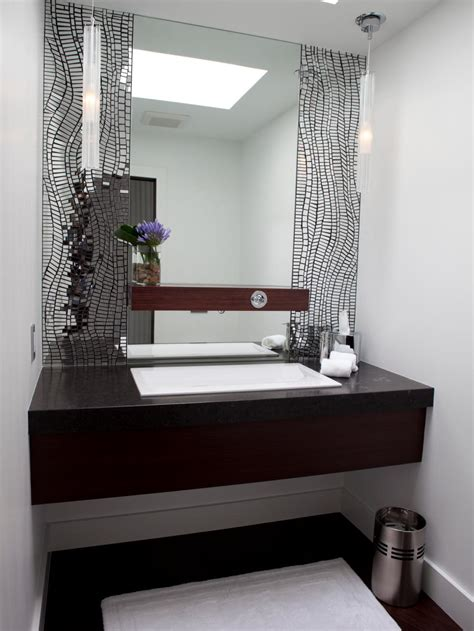 Bathroom Contemporary Vanities - bathroom tiles for every budget and design style hgtv