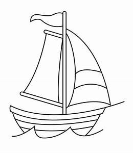 Paper Boat Drawing At Getdrawings