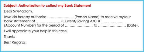 authorization letter  bank   write