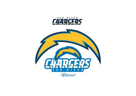 Small San Diego Chargers Teammate Logo Decal