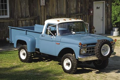 1965 F100 Ford 4x4 Maintenance Of Old Vehicles