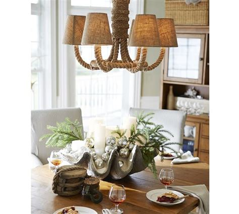chandelier l shades pottery barn chandelier pottery barn