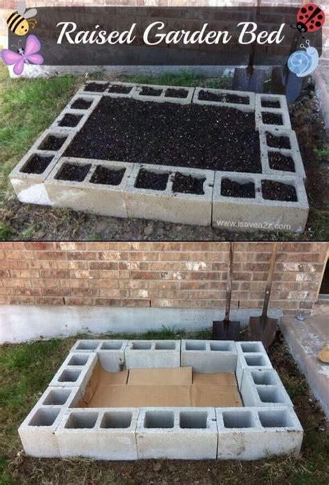 easy raised bed garden easy diy raised garden bed backyard ideas pinterest gardens raised garden beds and backyards