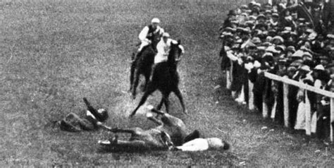 The Epsom Derby And The Deaths Of Emily Wilding Davison