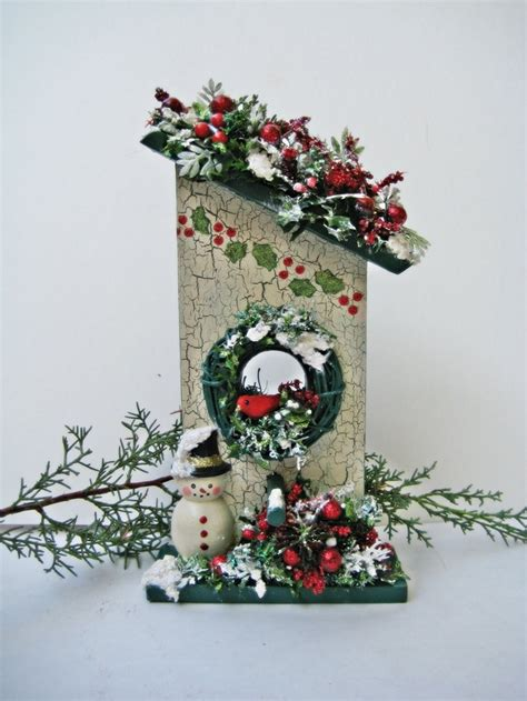christmas decorations bird houses wwwindiepediaorg