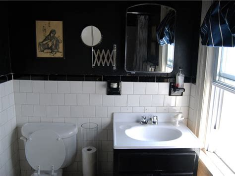 black bathrooms ideas paint color portfolio black bathrooms apartment therapy
