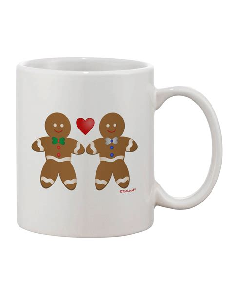 Manly coffee mugs for men, manly mugs, manly tea mug, manly gifts for men brettcowlbeck 4 out of 5 stars (20) $ 17.95 free shipping add to favorites dad the man, myth, legend woodgrain tumbler cup with lid and straw. Gingerbread Man Couple Printed 11oz Coffee Mug by TooLoud - Davson Sales