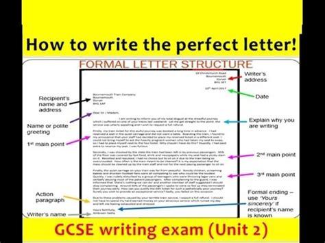 gcse english language letter writing   updated