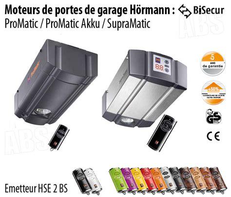 Motorisation Porte De Garage Hormann  Abs Boutique