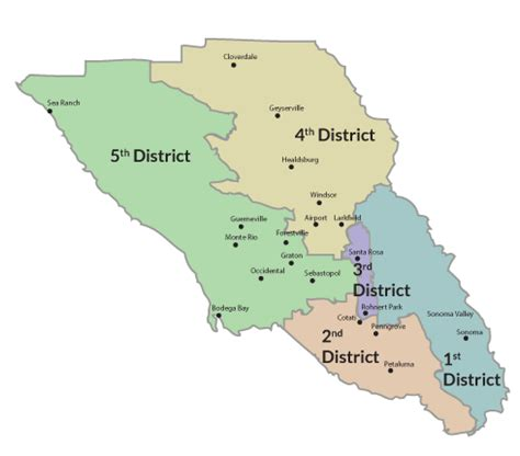 board  supervisor county district map