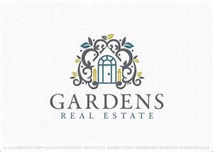 Readymade Logos for Sale Garden Real Estate | Readymade ...