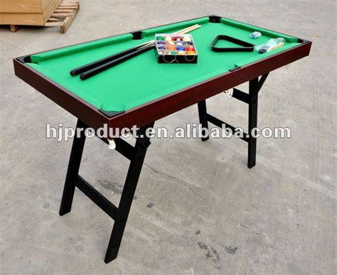 small pool table size high quality custom wooden small size portable american 5539