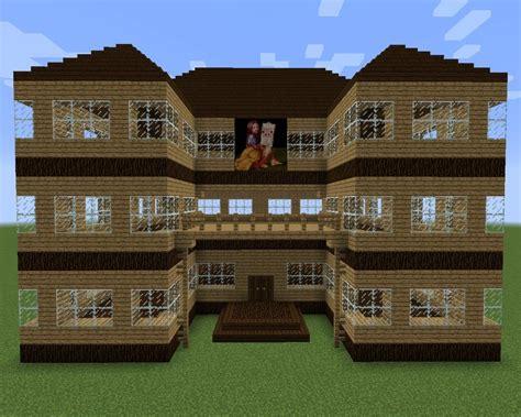 Moderne Minecraft Häuser Zum Nachbauen by Minecraft Modernes Haus Holz Wei 223 Gr 252 N Bauen