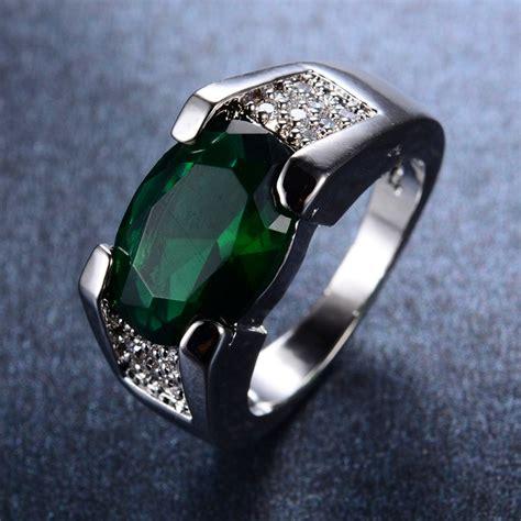 popular mens emerald rings buy cheap mens emerald rings