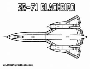 Fighter Jets Free Colouring Pages
