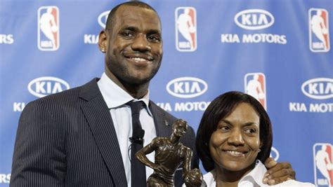 Gloria, who is of african. Delonte West denies old rumor about LeBron James' mom