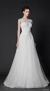 tony ward 2016 wedding dresses abstract roses bridal With modified a line wedding dress