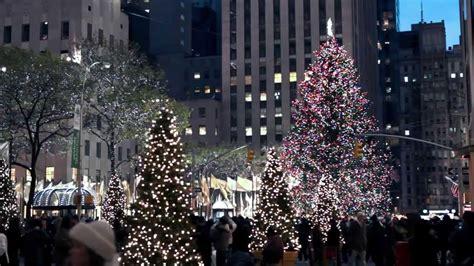 christmas lights  decorations   york city youtube