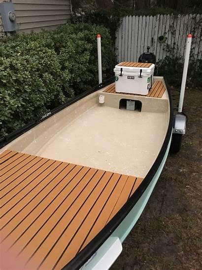Poling Platform Microskiff Skiffs