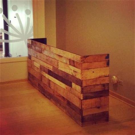 build a reception desk 13 amazing wood pallet reception desk pallets designs