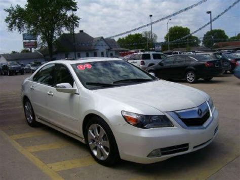 2009 Acura Rl For Sale by Sell Used 2009 Acura Rl Technology In 1100 S 3rd St Terre