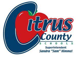 departments citrus county school district