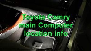 2001 Toyota Camry Ecu Location