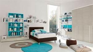 Teenager Zimmer Junge : ideen teenager zimmer einrichten junge turquoise helles holz kinderzimmer pinterest ~ Sanjose-hotels-ca.com Haus und Dekorationen