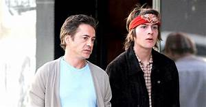 Robert Downey Jr. Opens Up About His Son Indio's Addiction ...