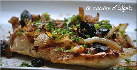 recette cuisine d recettes d 39 escalopes par la cuisine d 39 agnes blanc de