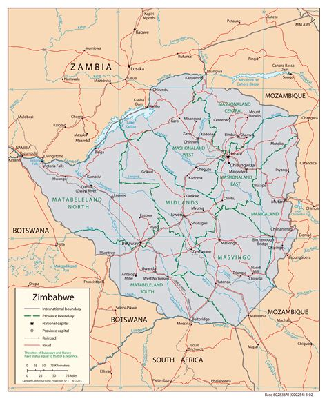 maps  zimbabwe map library maps   world