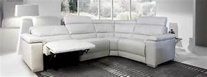 Photos canape angle cuir relax for Canape cuir angle relax electrique