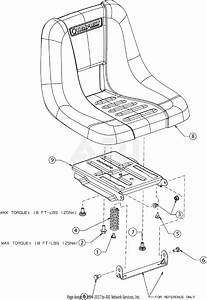 Troy Bilt Tb30r  13cc26jd011   2017  Parts Diagram For Seat