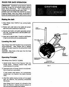 Craftsman 32812190 User Manual Sears 1 1  2 Ton Floor