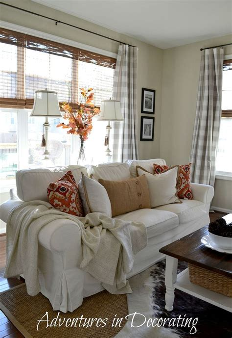 fall home decorated great room hometalk