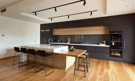eat in kitchen lighting modern kitchens 2018 the best trends of design and