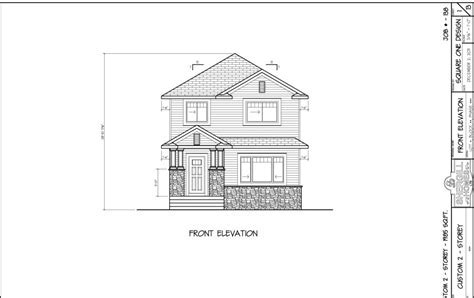 Two Storey 1985 sq ft 4 bedroom   Shergill Homes