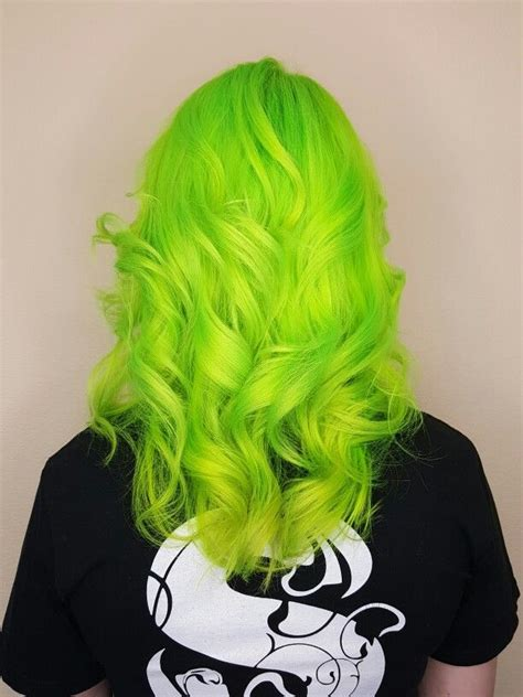 Best 25 Green Hair Colors Ideas On Pinterest