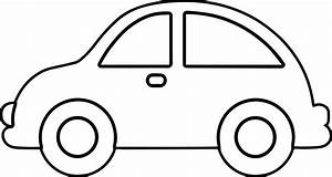 Simple Car Transportation Coloring Pages For Kids ...