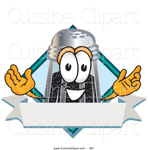 cuisine shaker cuisine clipart of a smiling pepper shaker mascot
