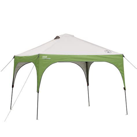 coleman pop up canopy coleman portable canopy shelter 10 x 10
