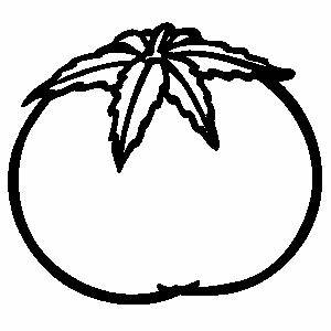 Free tomato clipart black and white collection