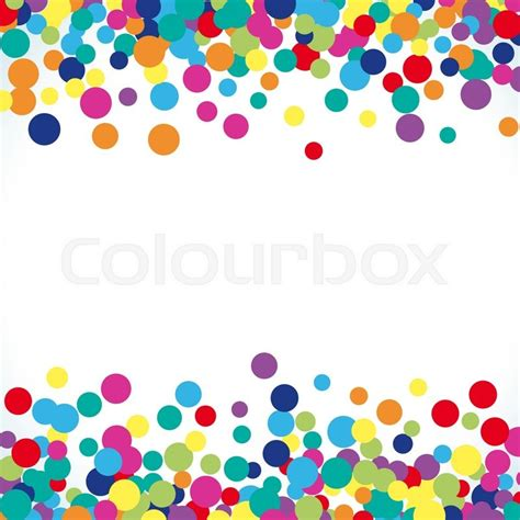 colorful abstract dot background vector illustration for